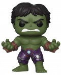 Фигурка Funko POP Games Marvel: Avengers Gamerverse – Hulk Bobble-Head (9,5 см)