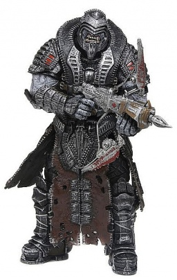 Фигурка SDCC Exclusive Gears of War 3: Elite Theron Onyx (18 см)