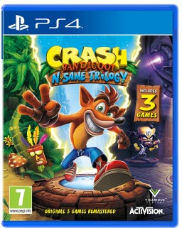 Crash Bandicoot N'sane Trilogy [PS4] – Trade-in | Б/У