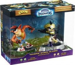 Skylanders Imaginators: Набор Adventure Pack № 2 (Crash Bandicoot /Life и Dr.Neo Cortex/Tech)
