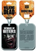 Жетон Walking Dead. Beware Of Biters Dog Tag