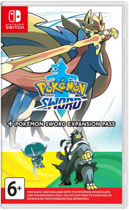 Pokemon Sword + Expansion Pass [Switch]