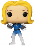 Фигурка Funko POP: Marvel Fantastic Four – Invisible Girl Translucent Bobble-Head Exclusive (9,5 см)