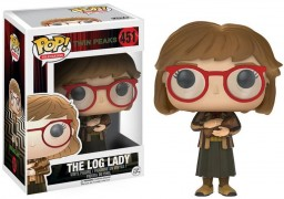 Фигурка Funko POP Television: Twin Peaks – The Log Lady (9,5 см)
