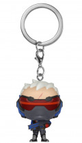 Брелок Funko POP: Overwatch – Soldier76
