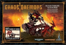 Набор миниатюр Warhammer 40,000. Chaos Daemons: Blood Throne of Khorne