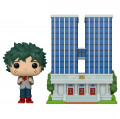 Фигурка Funko POP Town: My Hero Academia – U.A. High School With Izuku Midoriya