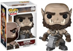 Фигурка Funko POP Movies: Warcraft – Orgrim (9,5 см)