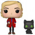 Фигурка Funko POP Television: Chilling Adventures Of Sabrina – Sabrina Spellman And Salem (9,5 см)