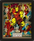 3D Постер Marvel Retro: Iron Man