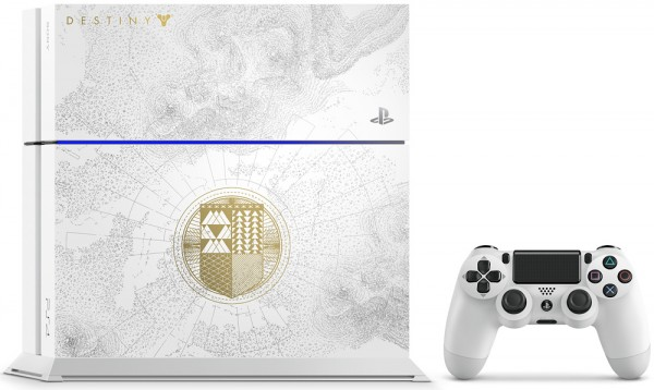 Комплект Sony PlayStation 4 (500 GB) White. The Limited Edition Destiny + игра Destiny: The Taken King. Legendary Edition