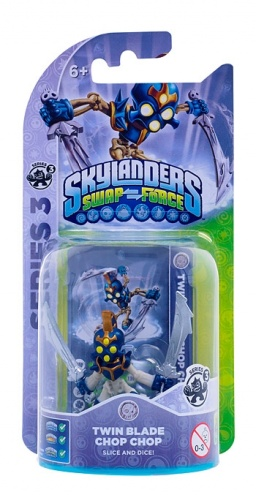 Skylanders. Swap Force. Интерактивная фигурка Twin Blade Chop Chop [PS3 и Xbox 360]