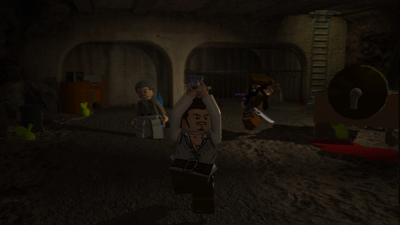 Скриншот из игры LEGO Pirates of the Caribbean: The Video Game
