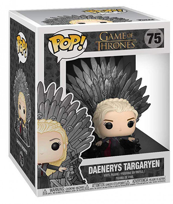 Фигурка Funko POP: Game Of Thrones – Daenerys Targaryen On Throne (9,5 см)