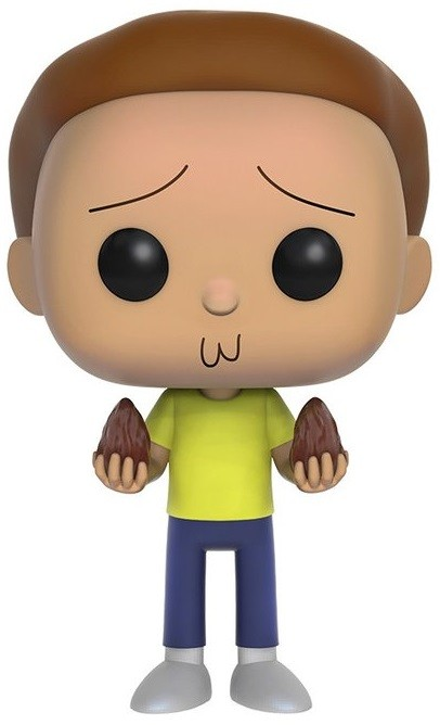 Фигурка Funko POP Animation: Rick & Morty – Morty (9,5 см)