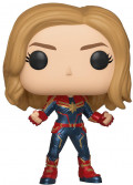 Фигурка Funko POP: Captain Marvel – Captain Marvel With Chase Bobble-Head (9,5 см)