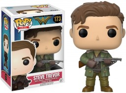 Фигурка Funko POP Heroes: Wonder Woman – Steve Trevor (9,5 см)