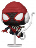 Фигурка Funko POP: Marvel Spider-Man Gamerverse – Miles Morales Winter Suit Bobble-Head (9,5 см)