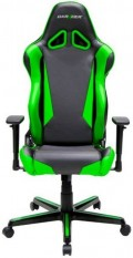 Геймерское кресло DXRacer Racing OH/RM1/NE (Black/Green)