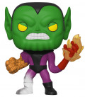 Фигурка Funko POP: Fantastic Four – Super-Skrull Bobble-Head (9,5 см)