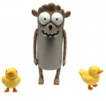 Фигурка Regular Show Rigby with two Baby Ducks (16 см)