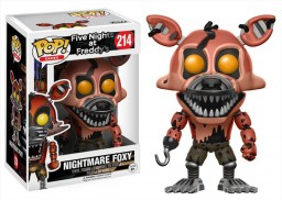 Фигурка Funko POP Games: Five Nights at Freddy's – Nightmare Foxy (9,5 см)