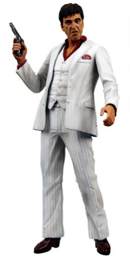 Фигурка Scarface White Suit Action fig. with sound (46 см)
