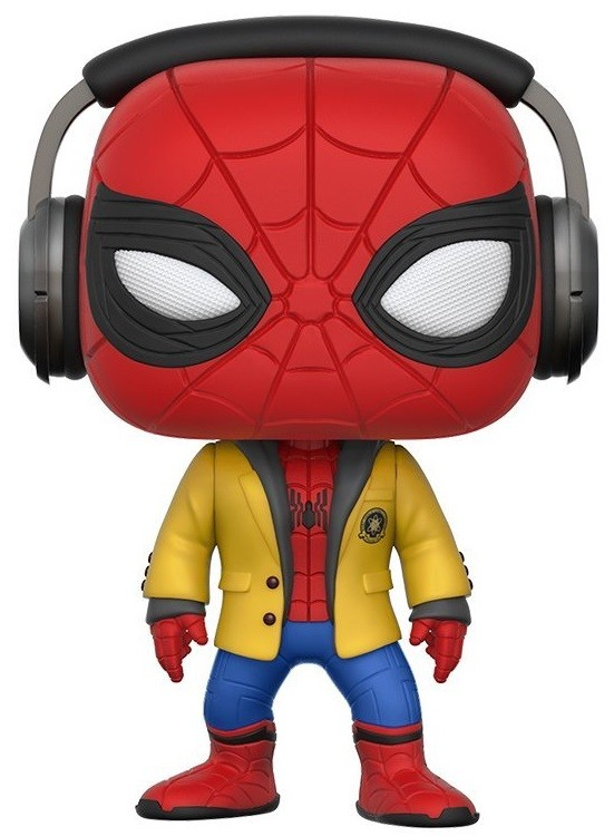Фигурка Funko POP: Spider-Man Homecoming – Spider-Man With Headphones (9,5 см)