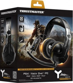 Игровая гарнитура Thrustmaster Y300CPX. Ghost Recon Wildlands Edition для PS4 / PS3 / Xbox One / Xbox 360 / PC