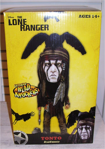 Фигурка The Lone Ranger Tonto Head Knocker (18 см)