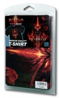 Футболка Diablo III. Burning (черная) (XL)