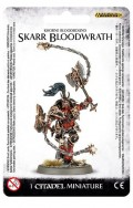 Warhammer. Миниатюра Khorne Bloodbound Skarr Bloodwrath