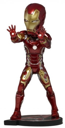 Фигурка NECA Avengers Age of Ultron: Head Knockers – Iron Man (17 см)