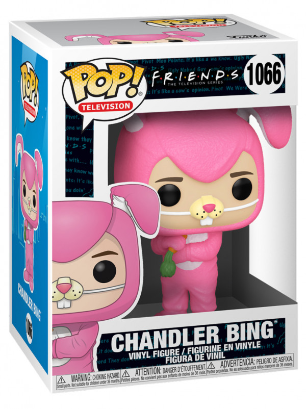 Фигурка Funko POP: Friends Television Series – Chandler Bing As Bunny (9,5 см)