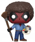 Фигурка Funko POP Marvel: Deadpool – As Bob Ross Bobble-Head (9,5 см)