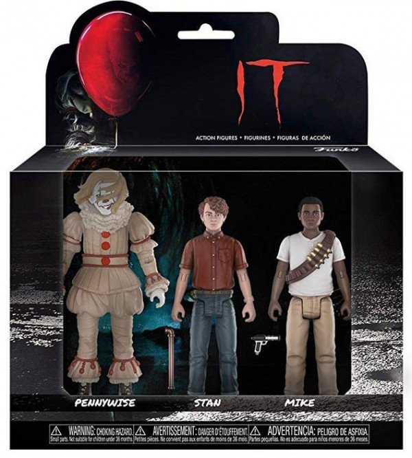 Фигурка Funko Action Figures: IT – Pennywise & Stanley & Mike (3-Pack)