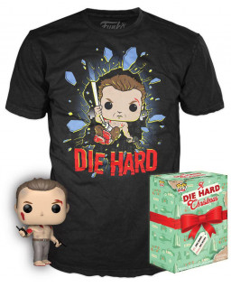 Набор Футболка + Фигурка Funko POP: Die Hard Tees