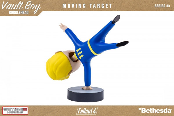 Фигурка Fallout 4 Vault Boy 111 Bobbleheads: Series Four – Moving Target (13 см)