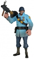 Фигурка Team Fortress Series 2 BLU Soldier (18 см)