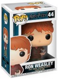 Фигурка Funko POP: Harry Potter – Ron Weasley With Scabbers (9,5 см)