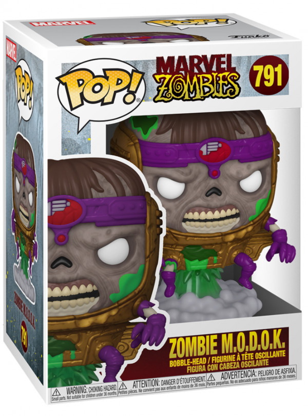 Фигурка Funko POP Marvel: Zombies – Zombie M.O.D.O.K. Bobble-Head (9,5 см)